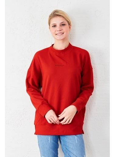 EKA Uzun Kol Sweatshirt Kırmızı